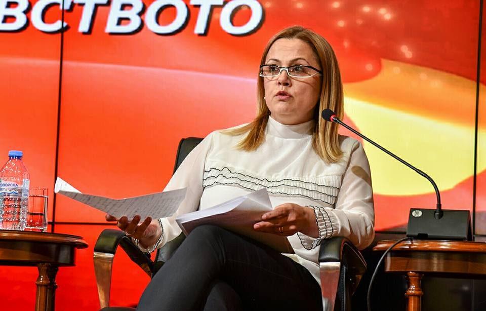 Стојаноска: Разговорот на Мицкоски со Туск и средбата со Сијарто се доказ дека ВМРО-ДПМНЕ повеќе работи на меѓународен план за Македонија од власта