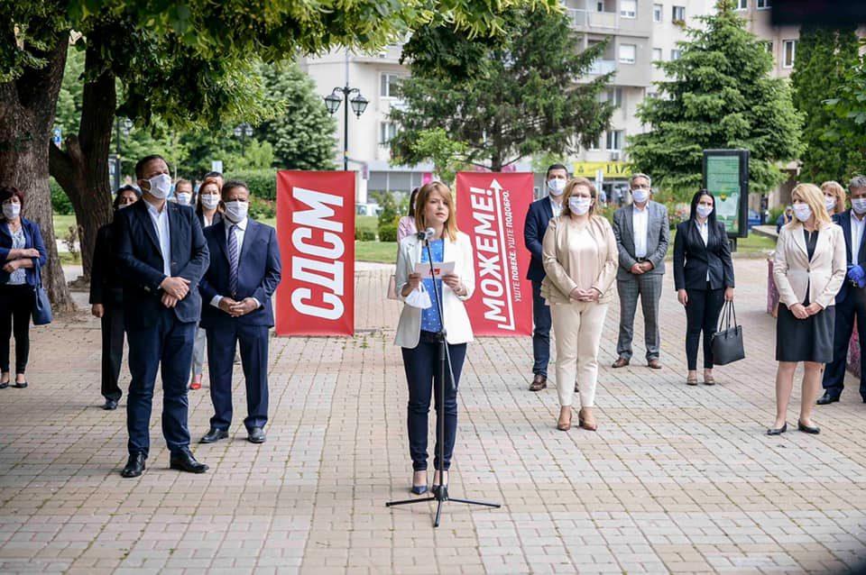 Лукаревска: Демантирам дека тестирањето за коронавирус сум го направила пред вчерашната посета во Куманово