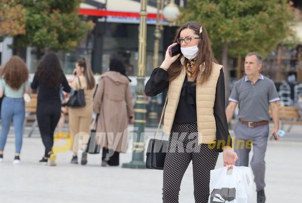 За 24 часа казнети 464 граѓани за неносење маска