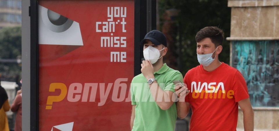 МВР: Вчера регистриран 251 прекршок за неносење заштитна маска