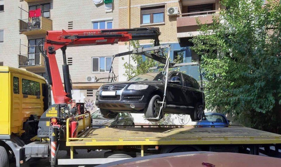 За една недела казнети  153  возила во Општина Центар