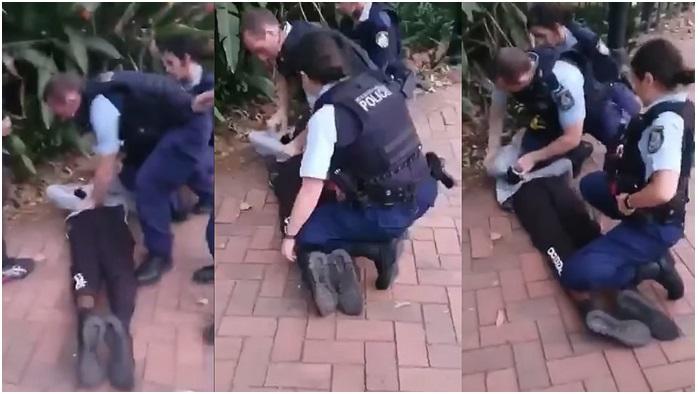 Видео кое го крена светот на нозе: Полицаец нападна тинејџер во Австралија