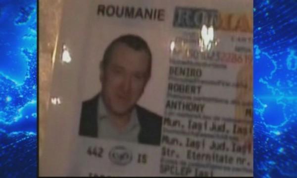Во Романија уапсен дилер со лична карта на име Роберт Де Ниро