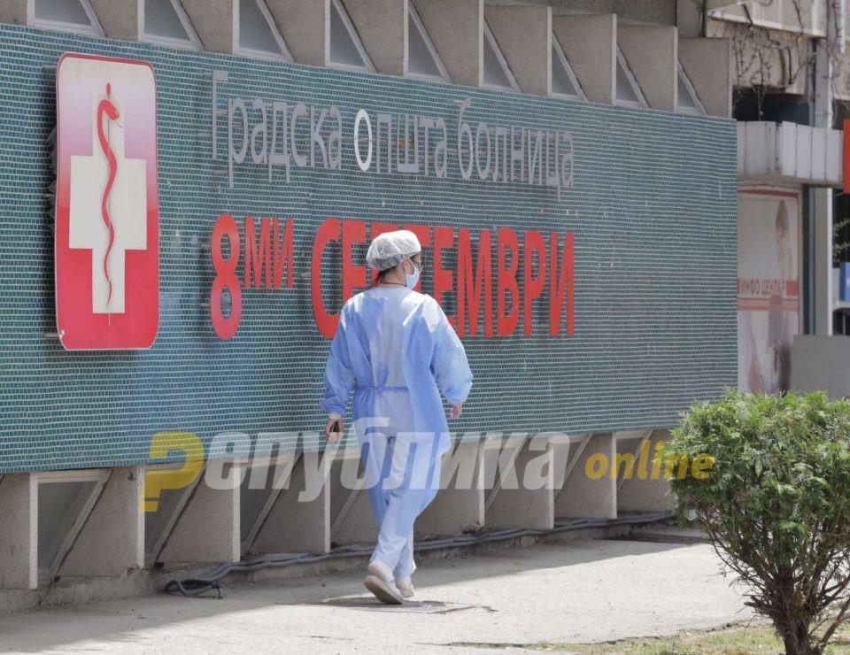 """Филипче: Дел од ГОБ """"8 Септември"""" ќе почне да се ослободува за другите пациенти"""