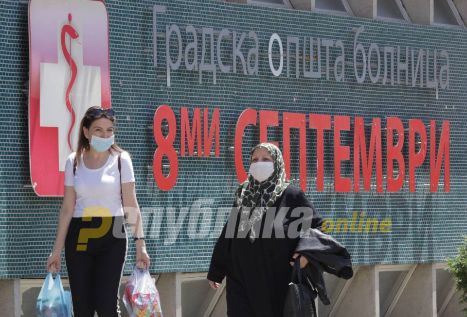 Центар и Чаир денеска со најмногу заболени