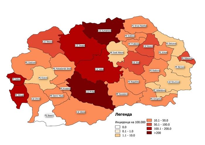 Ресен остана единствениот град во Македонија без заразени