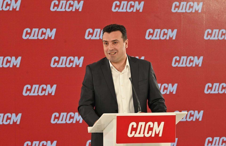 ВМРО ДПМНЕ: Заев и СДСМ ја признаа автентичноста на снимките, тој позадински местел судски случаи и договарал нивно паѓање