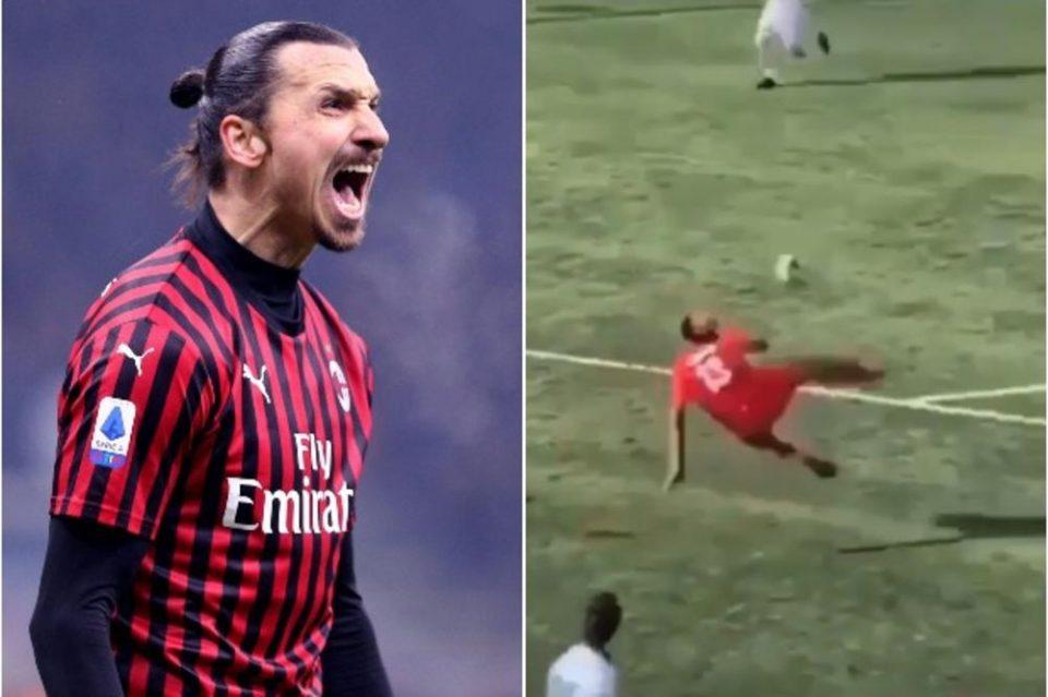 Ова го може само Ибрахимовиќ: Синот на Златан со спектакуларен гол