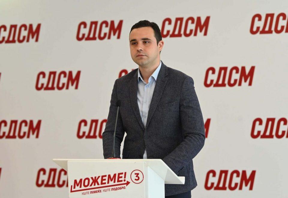 Костадинов: На 15 јули граѓаните масовно ќе застанат зад СДСМ