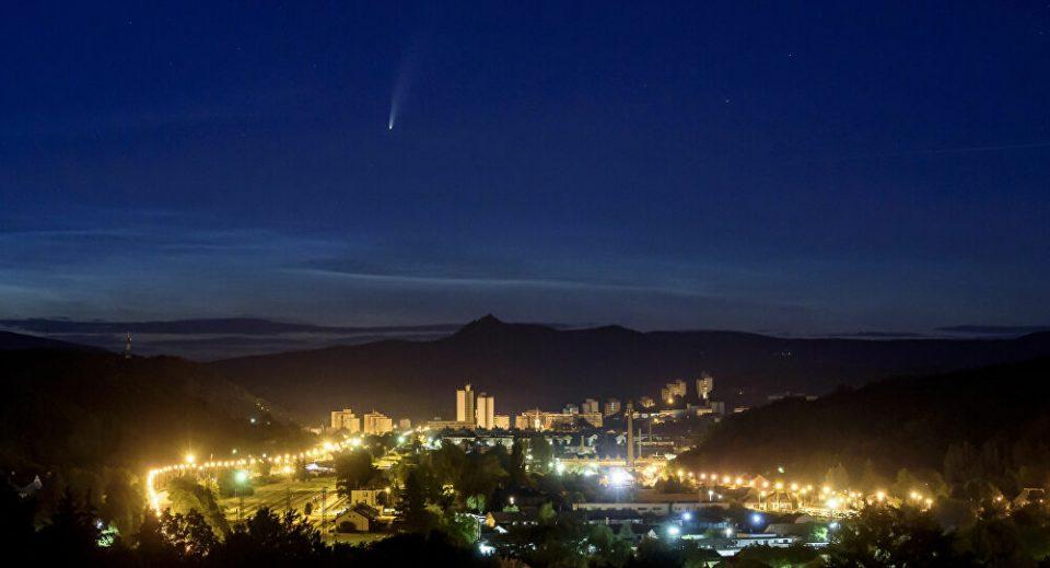 Најсветлата комета помина над Јадранското Море