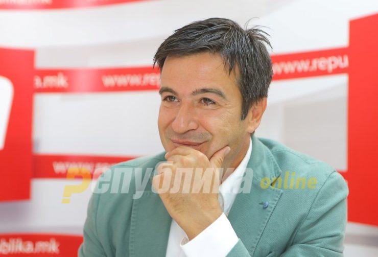 Пандов вечерва ќе ги презентира идните планови и цели на Патриотскиот институт на ВМРО