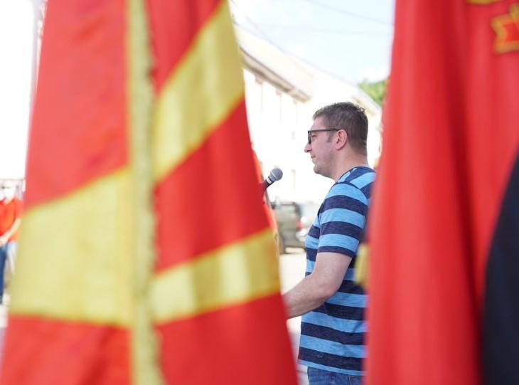 Мицкоски: СДСМ и БЕСА во два чекора сакаат да ја распарчат Македонија, прво федерализација, а потоа следи уништување