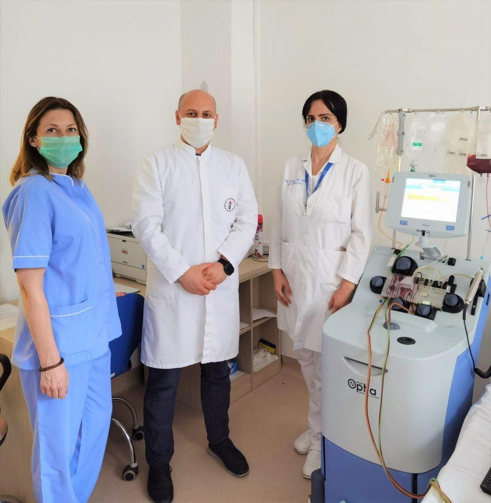 Третпат донор од Македонија дарува клетки за пациент од друга земја, кои се користат за трансплантација на коскена срцевина