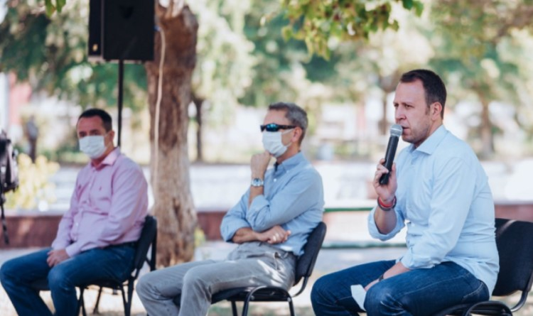 Јанушев во друштво на Кедев и Николов во Штип: Доаѓаат најдобрите 4 години во историјата