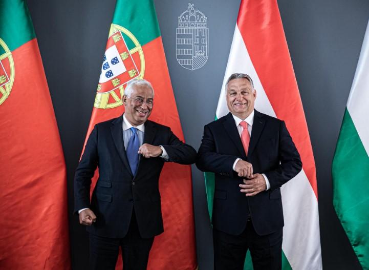 Премиерите на Унгарија и на Португалија бараат заеднички став за идниот буџет на ЕУ
