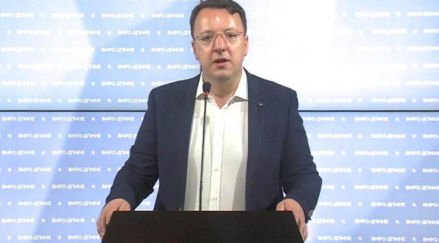 Николоски: Заев е на врвот на пирамидата што ја рекетира Македонија