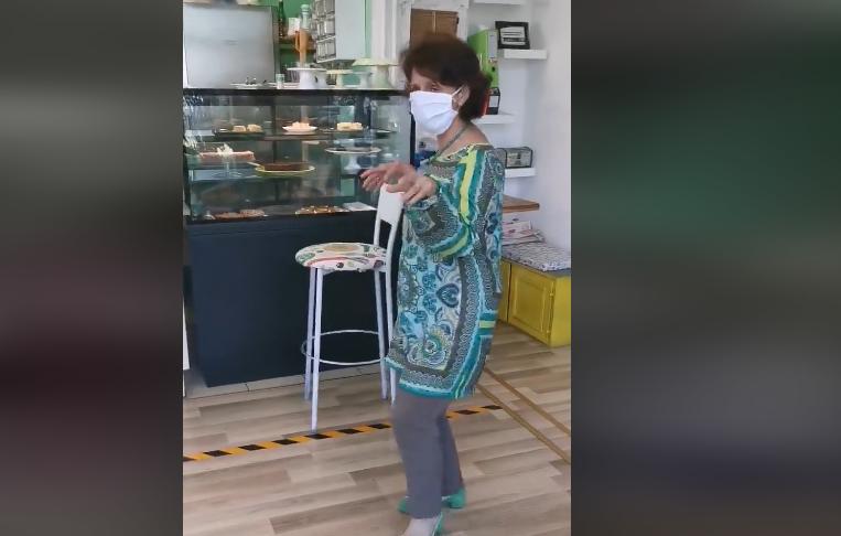 Силјановска во денс расположение: Се разигра за да биде во форма во кампањата