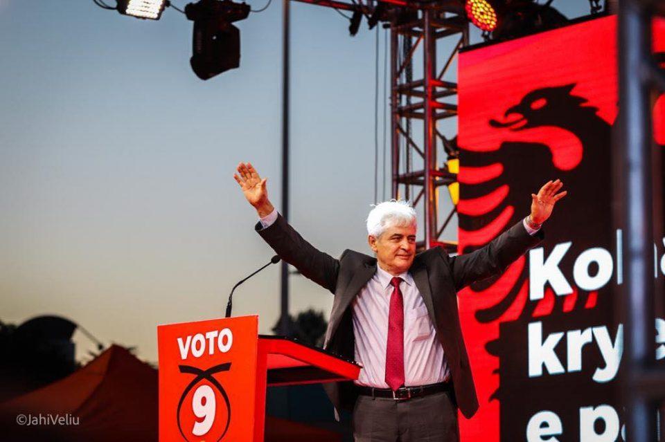 Ахмети од Охрид ги повика граѓаните да гласаат за прв премиер Албанец