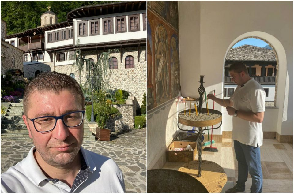 Мицкоски помеѓу средби со граѓаните најде време и за македонските убавини