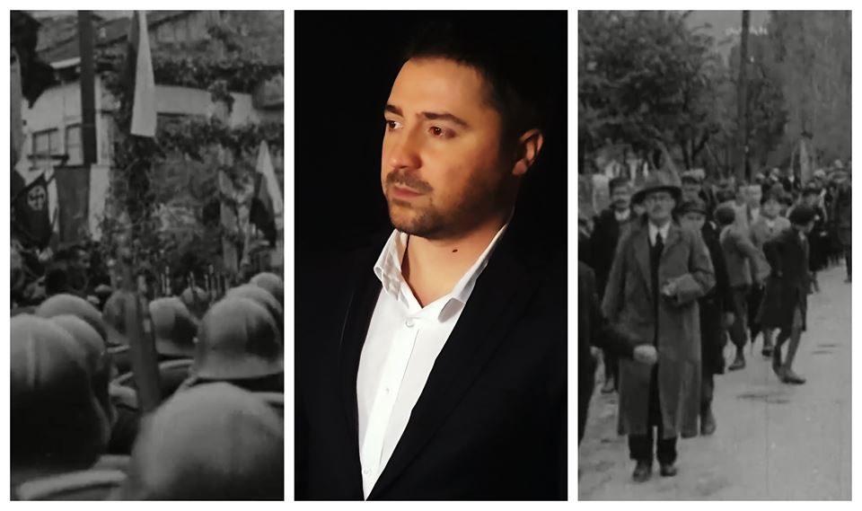 """Со оваа песна се пречекувал Тито во Скопје: Патриотска """"Земјо Мила"""" препеана од младиот Даниел Крстески"""