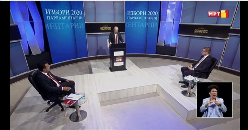 Мицкоски за Заев: Мене ми е под секоја чест 9 пати во 90 минути дебата, да му кажам дека лаже