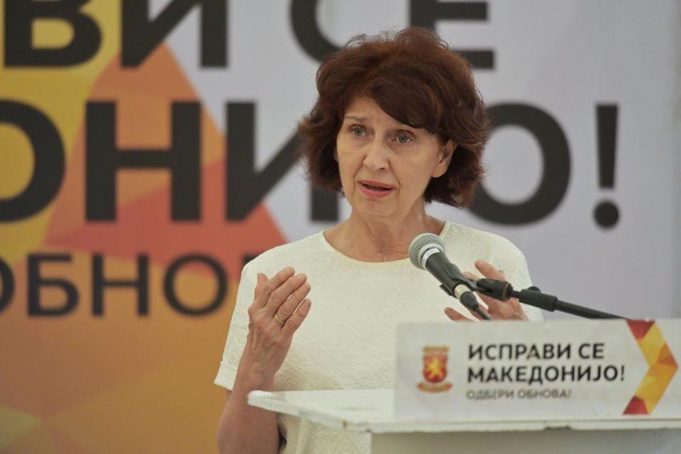 Силјановска: Политиколошката дијагноза вели дека Заев направи заробено општество во Македонија