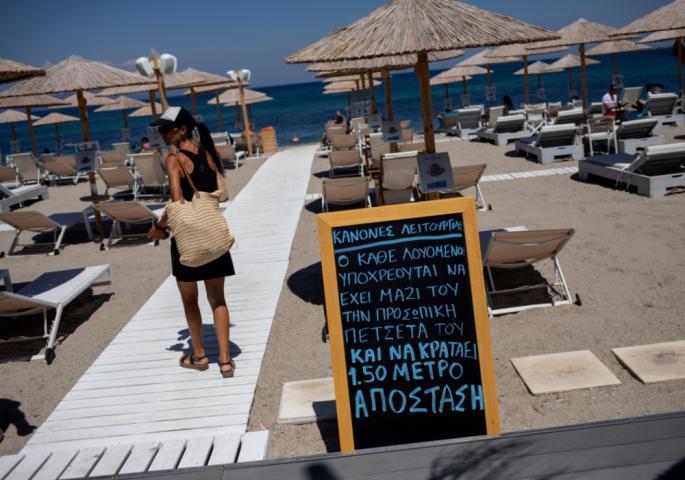 Речиси половина од заразените во Грција се туристи