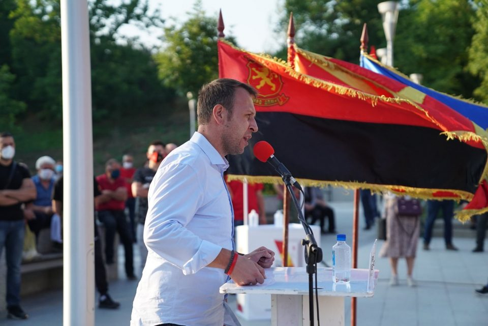 Јанушев: По големата победа на 15 јули ќе работиме интензивно и напорно за враќање на македонското национално достоинство