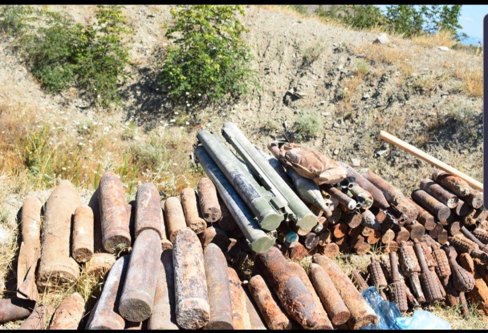 На Криволак уништени 1.150 убојни средства