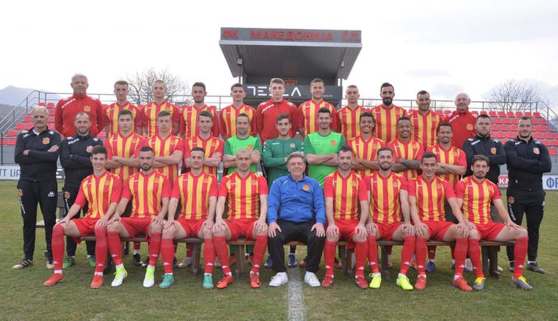 Заболени двајца фудбалери од Македонија ЃП