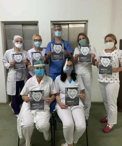 Матичните лекари кои денеска протестираа се нездоволни и разочарани од ставот на МЗ: Срам да ви е!