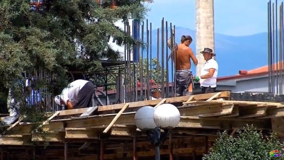 """Поднесен акт за """"бесправно градење"""" во ОЈО за дивоградбата кај """"Мавровка"""""""