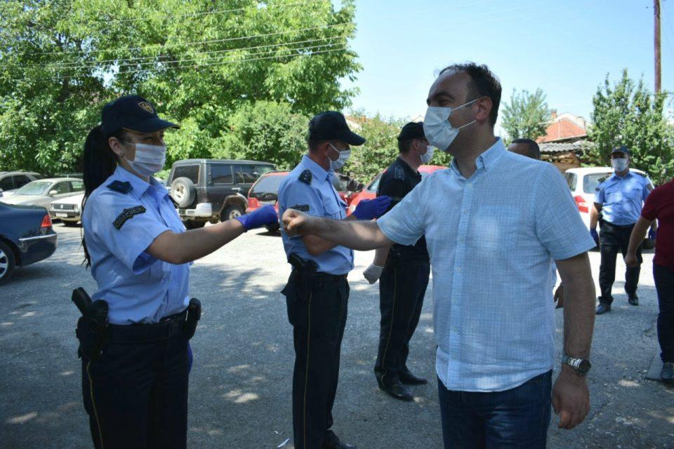 Чулев: Благодарност до хероите кои секој ден се жртвуваат за безбедноста на татковината и граѓаните
