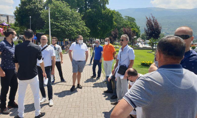 Музичарите од Охрид со протест бараат протокол за да работат