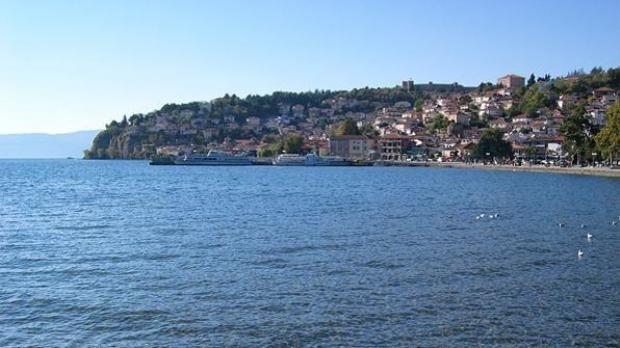 Охридското и Препанското Езеро со намален водостој