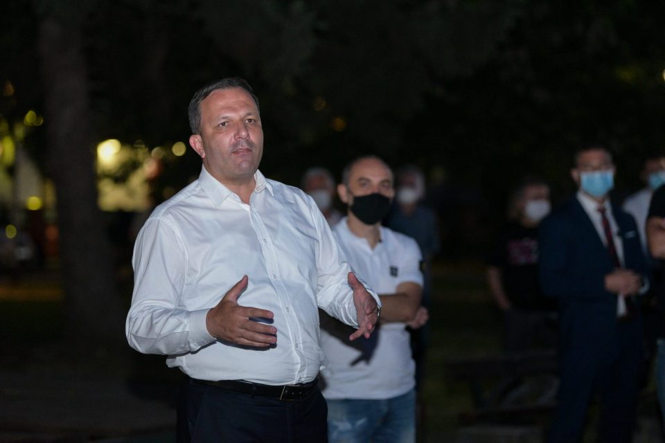 Спасовски: Граѓаните се сигурни со концептот Едно општество за сите
