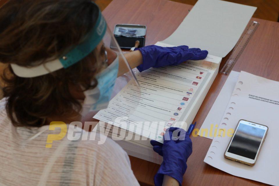 Неважечки 31.107 гласачки ливчиња на изборите