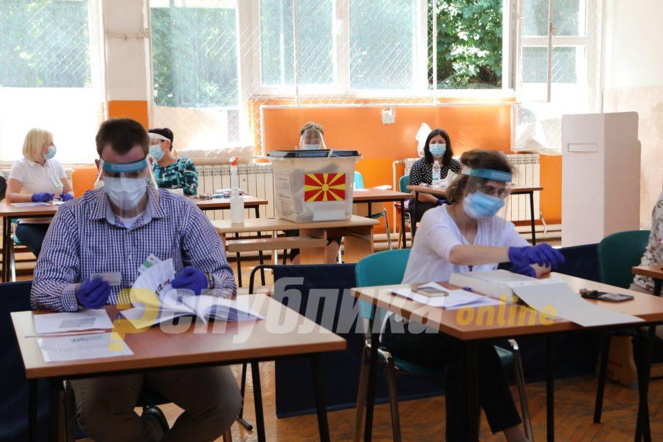 Филипче задоволен: Заштитата на здравјето на граѓаните во текот на изборите беше на највисоко ниво
