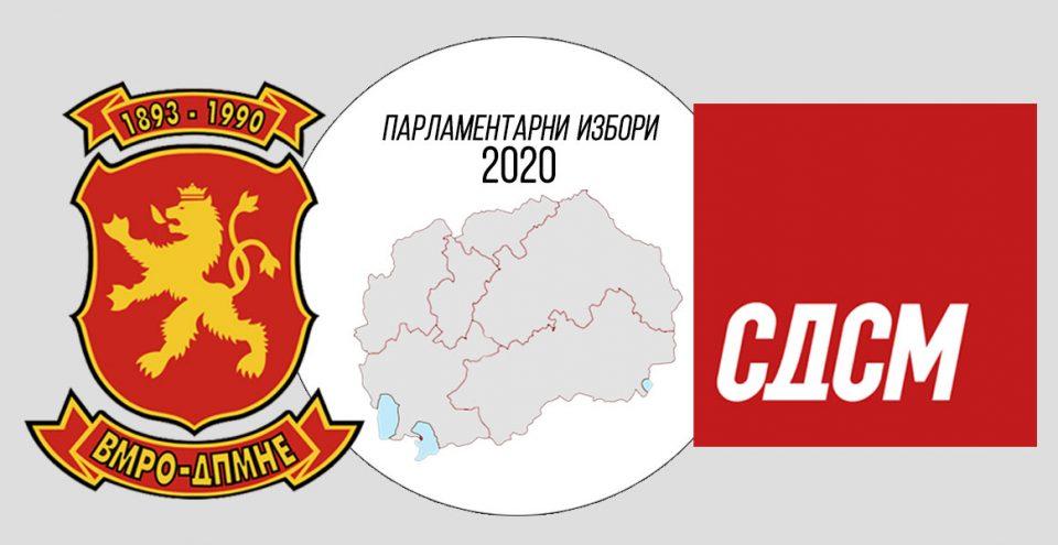 Неофицијално: ВМРО-ДПМНЕ 47 пратеника, СДСМ 48