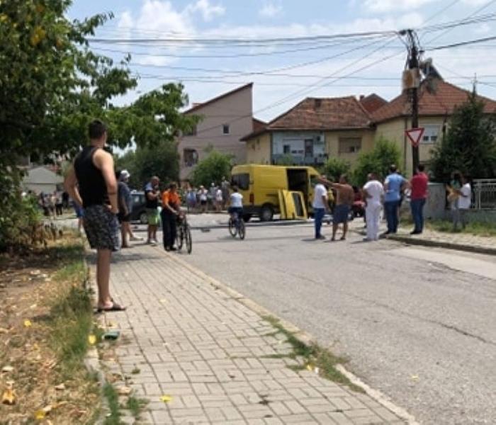Комбе со мигранти предизвика тешка сообраќајка во Струмица