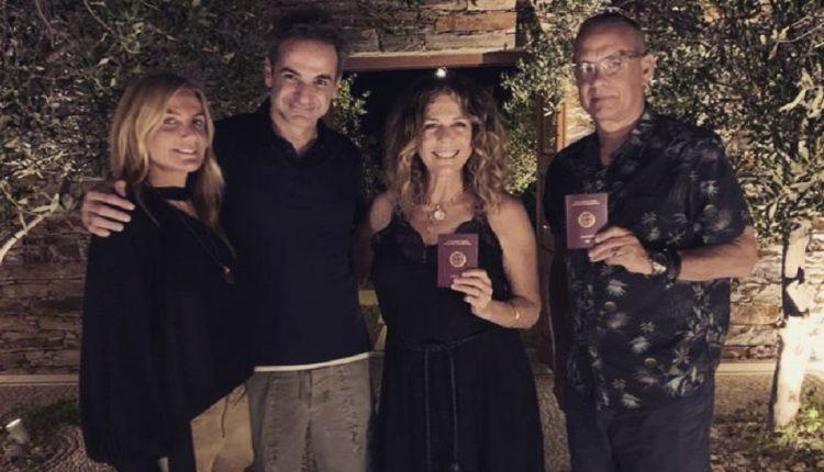 Том Хенкс и сопругата станаа државјани на Грција
