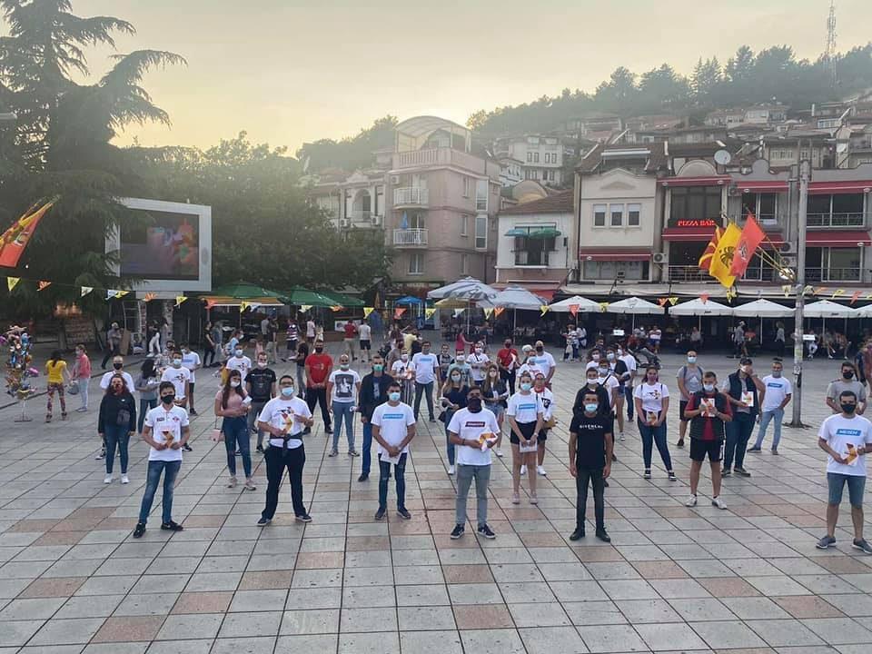 Младите меѓу граѓаните во Охрид
