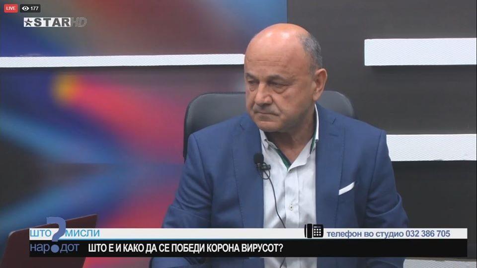 Вело Марковски: Власта реагира панично, нема систем за заштита од заразата
