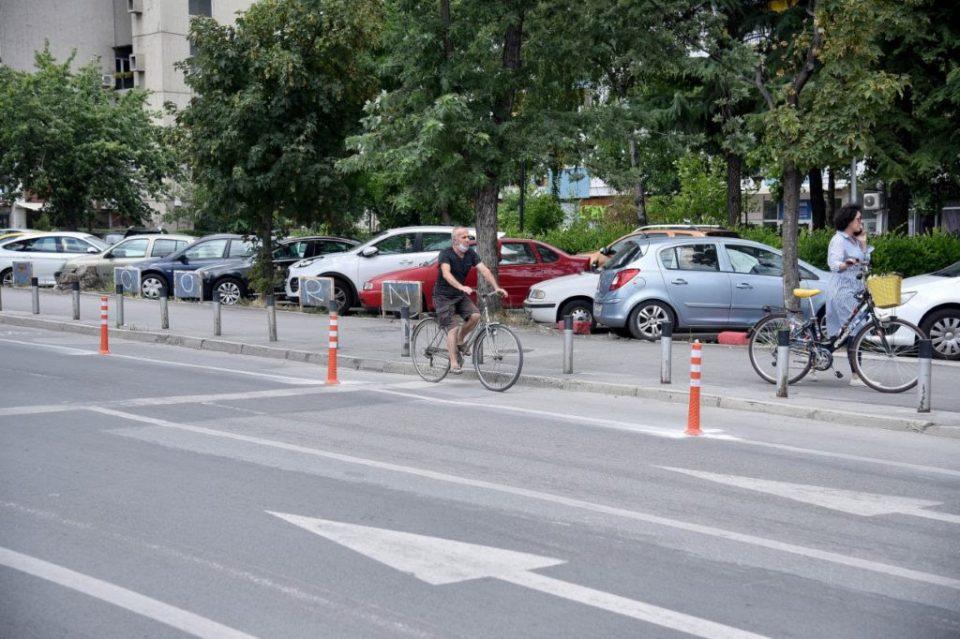 """Нова велосипедска патека за велосипедистите на улицата """"Свети Кирил и Методиј"""""""