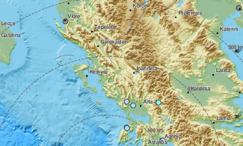 Земјотрес во близина на Закинтос