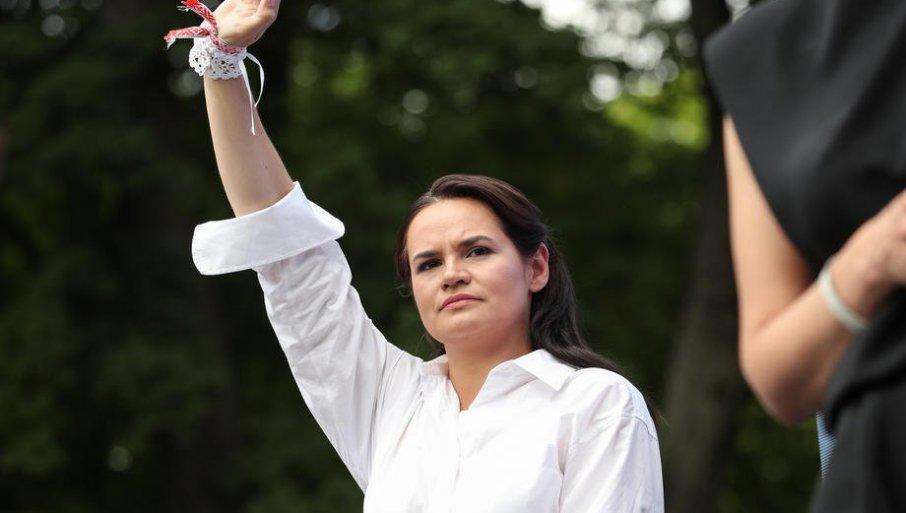 Меркел во Берлин ќе ја пречека белоруската опозиционерка Светлана Тихановскаја