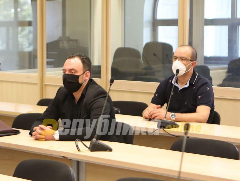 """Покачената телесна температура на Спиро Ристовски го одложи судењето за """"27 април"""""""