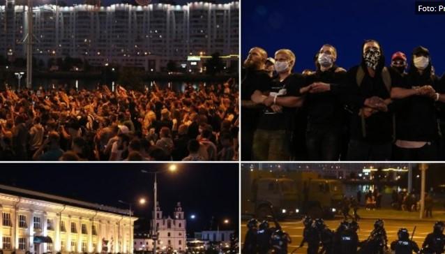 ЕУ воведува санкции за Белорусија како казна за репресивниот одговор против демонстрациите