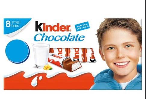 Малото момче од Киндер чоколадите порасна во вистински маж