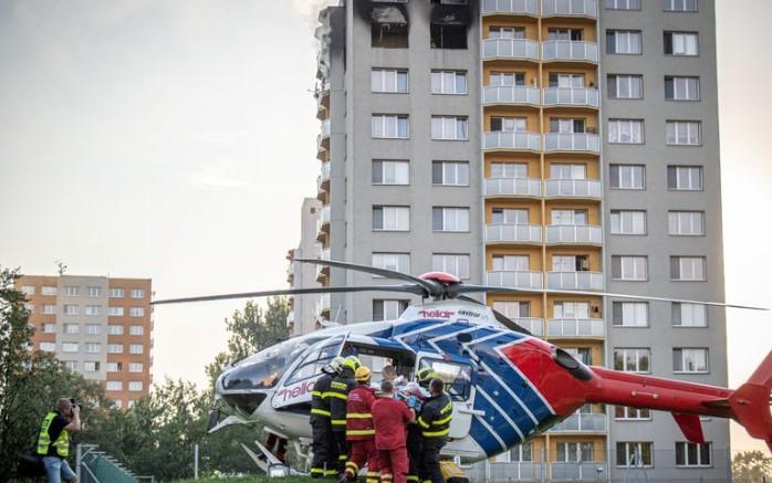 Meѓу загинатите во пожарот во Чешка и три деца